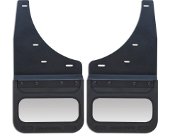 Cloud-Rider Advantage Custom Fit Kick Back Mud Flaps - Stainless Insert