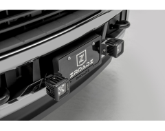 Zroadz Universal License Plate Frame Mounted LED Light Kit