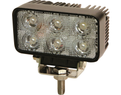 Ecco Rectangular LED Flood Beam Worklamp