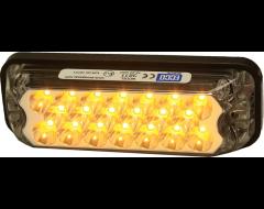 Ecco Rectangular LED Mini Lightbar - Amber