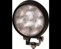 Ecco Round LED Flood Beam Worklamp