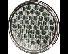Ecco Round LED Warning Light - Amber