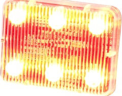 Ecco Stick-A-LED Warning Light - Amber