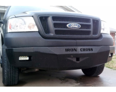 Iron Cross RS Series Front Bumper - Black Textured Powder Coated