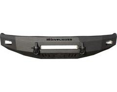 Iron Cross Heavy Duty Low Profile Front Bumper - Black Textured Powder Coated