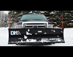 DK2 Avalanche Hitch Mount Snow Plows