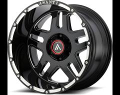 Asanti Wheels AB809 - Gloss Black Milled