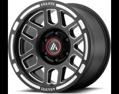 Asanti Wheels AB812 - Satin Black Milled