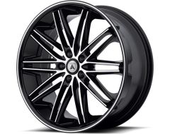 Asanti Wheels ABL-10 - Machined Face with Black Lip