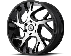 Asanti Wheels ABL-16 - Gloss Black Machined