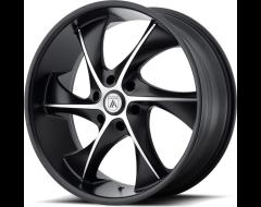 Asanti Wheels ABL-17 - Satin Black Machined