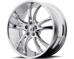 Asanti Wheels ABL-6 - Chrome Plated