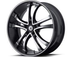 Asanti Wheels ABL-6 - Machined Face with Black Lip