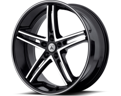 Asanti Wheels ABL-7 - Machine Face with Black Lip