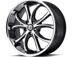 Asanti Wheels ABL-8 - Machined Face with Stainless Steel Lip