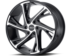 Helo Wheels HE903 - Gloss Black Machined