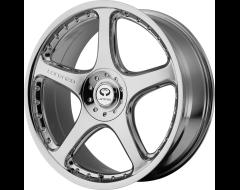 Lorenzo Wheels WL28 - Chrome Plated