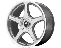 Lorenzo Wheels WL28 - Bright Silver With Clear Coat