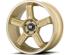 Motegi Racing Wheels MR122 - Gold with Machined Stripe