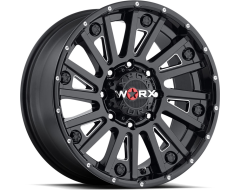Ultra Wheels Sentry 810 Series - Gloss - Milled accents