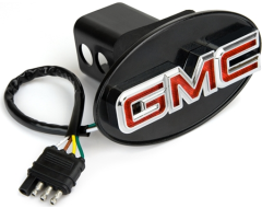 Highland GMC Lighted Hitch Cover