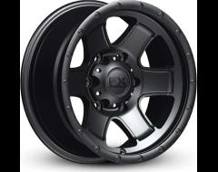 FX Wheels 302 Series - Satin Black