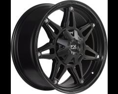 FX Wheels FX14 - Satin Black