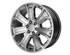 OE CREATION Wheels PR162 - Silver with Chrome Accents