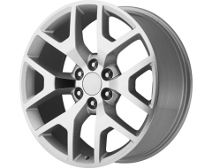 OE CREATION Wheels PR169 - Silver with Machined Spokes