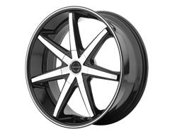 ASANTI Wheels ABL-9 - Machined Face with Black Lip