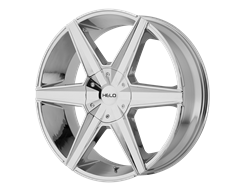 HELO Wheels HE887 - Chrome Plated