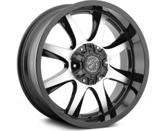 Panther Wheels - Gloss painted - Machined Accents