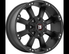 Ballistic Wheels 845 Morax Series - Painted Matte - Machined lip