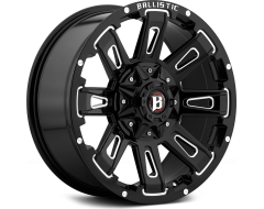 Ballistic Wheels 958 Ravage Series - Painted - Milled accents