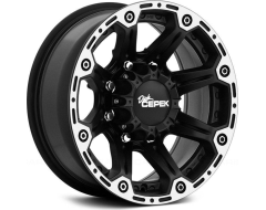 Dick Cepek Wheels DC Torque - Flat Black with Machined Flange