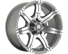 Dick Cepek Wheels DC Gun Metal 7 - Machined Gun Metal