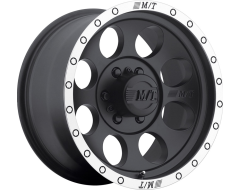 Mickey Thompson Wheels CLASSIC BAJA LOCK - Matte Black with Machined Lip