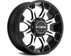 Mickey Thompson Wheels MM-164M - Gloss Black with Machined Accents