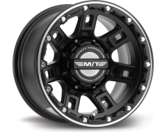 Mickey Thompson Wheels SIDEBITER LOCK - Satin Black with Machined Accents