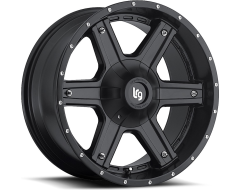 LRG Wheels Slant 101 - Matte Black