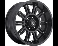 LRG Wheels Apache 102 - Matte Black