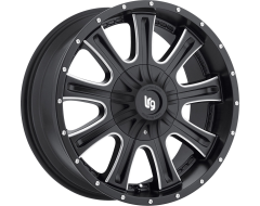 LRG Wheels Access 105 - Matte Black with Machined Accents