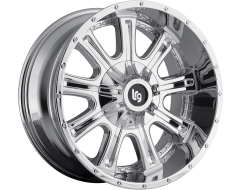LRG Wheels Access 105 - Chrome