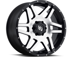 LRG Wheels Classico 111 - Machined Face with Satin Black Lip