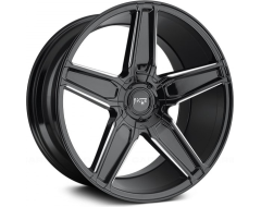 Niche Wheels Cannes - Gloss Black with Milled Accents