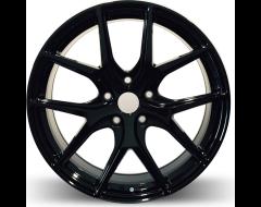 Rim Alloy R02 Series Wheels - Gloss Black