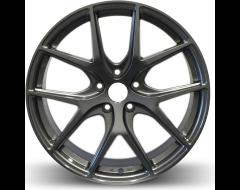 Rim Alloy R02 Series Wheels - Gloss Gun Metal