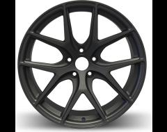 Rim Alloy R02 Series Wheels - Matte Gun Metal