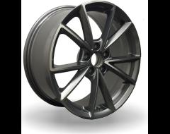 Rim Alloy A17 Series Wheels - Gun Metal with Machined Face