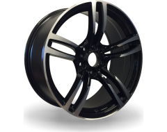 Rim Alloy B01 Series Wheels - Black with Machined Face